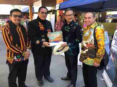 The Light of Aceh Meriahkan Indonesia Festival di Canberra
